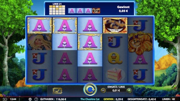 The Cheshire Cat Slot Win