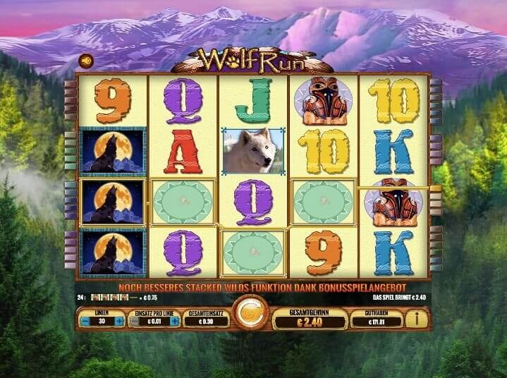 Wolf Run Slot Win