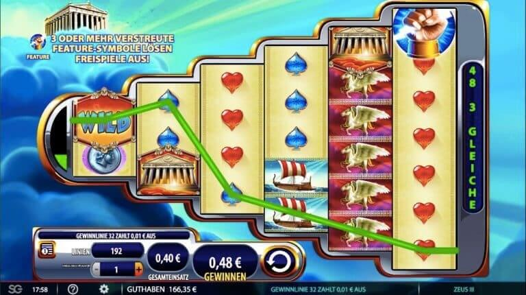 Zeus 3 Slot Win